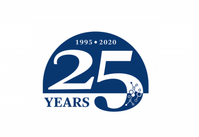 Berman Institute's 25th Anniversary graphic ID