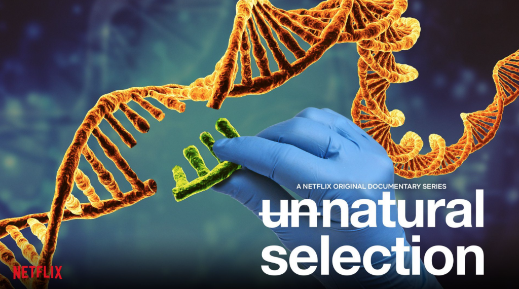 Logo of Netflix series Unnatural Selection