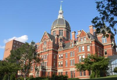 Photo of the original Johns Hopkins Hospital